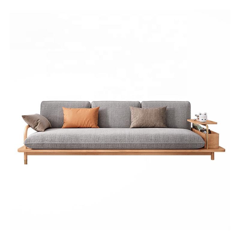 North europe style sofa furniture simple modern living room 3 seater sofa