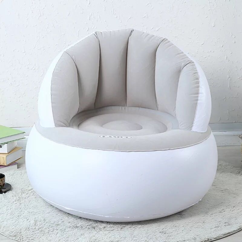 Inflatable sofa bed chair flocked lazy outdoor air sofa
