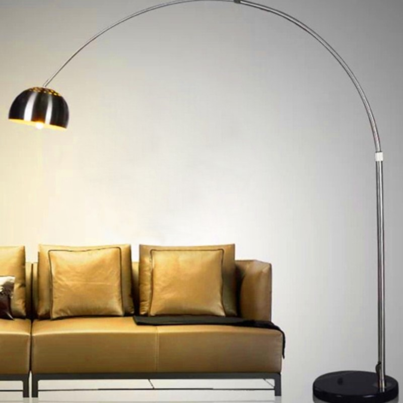 New design modern creative led floor lamp lighting aluminium stand light floor lamp for living room
