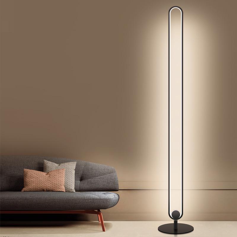 Modern creative led floor lamp lighting aluminium stand light floor lamp
