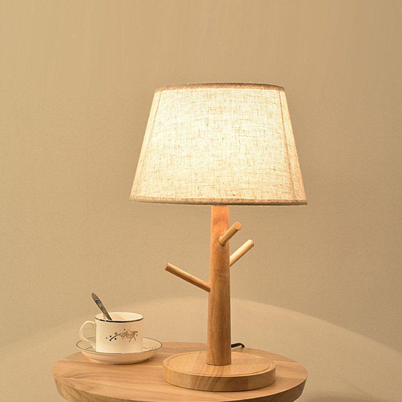 Desk Lamp Light Modern Office Led Switch Power