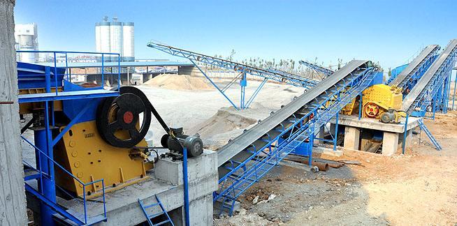 環保型碎石生產線所需要設備和裝置