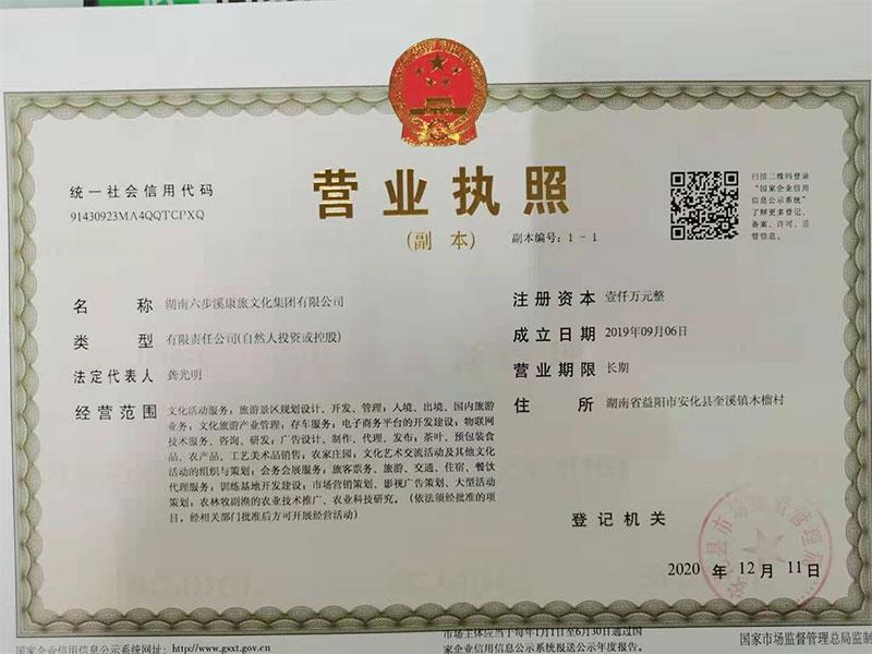 湖南六步溪康旅文化集团有限公司