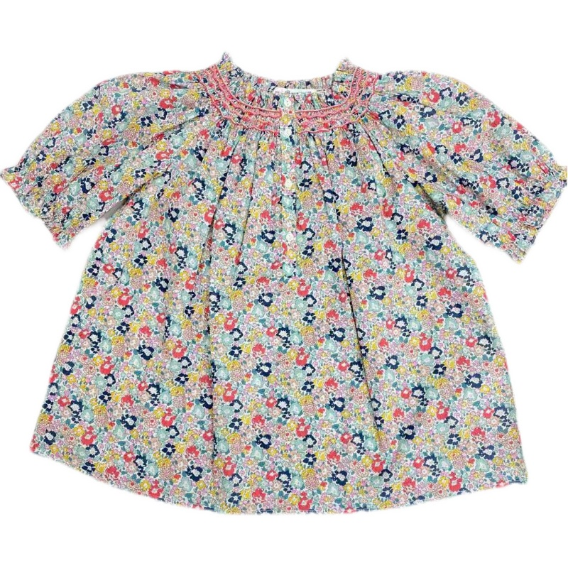 Small floral smocking clothes
