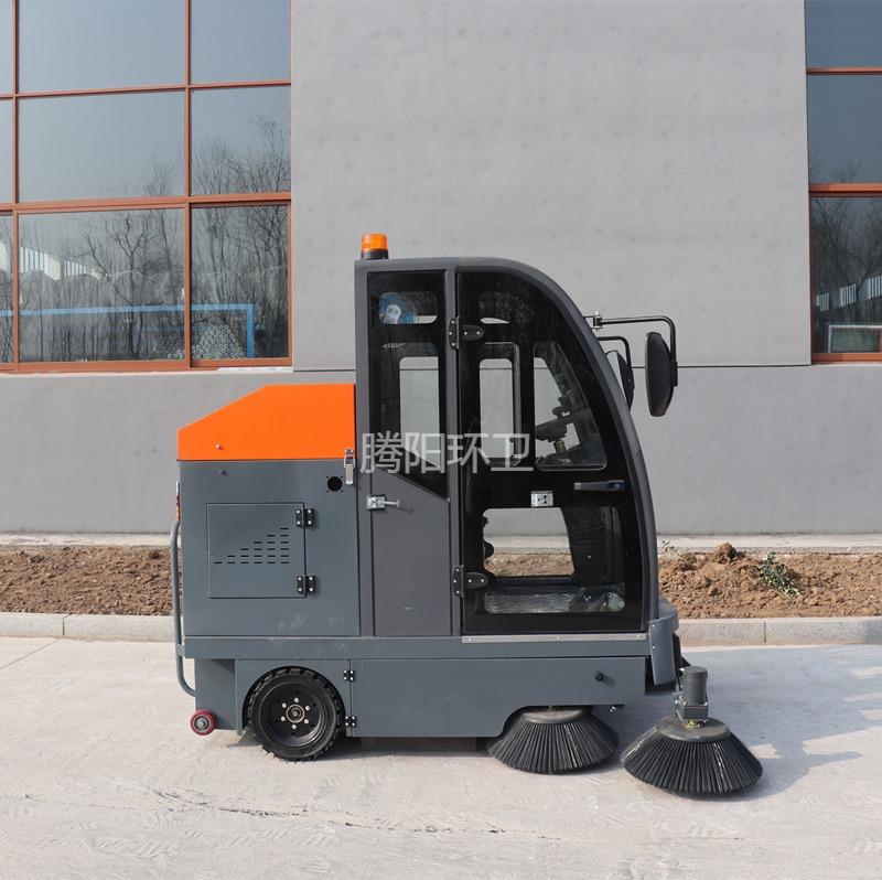 驾驶式洒水/吸尘/扫地车电动环卫道路清扫车