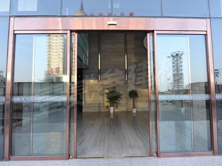玻璃自动门 玻璃感应门