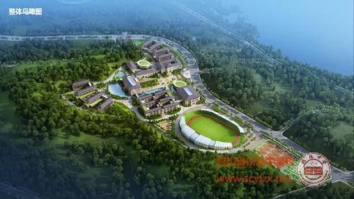 新校区俯瞰图
