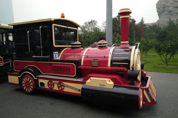 黄山生态游乐场 儿童欢乐城托马斯电动火车