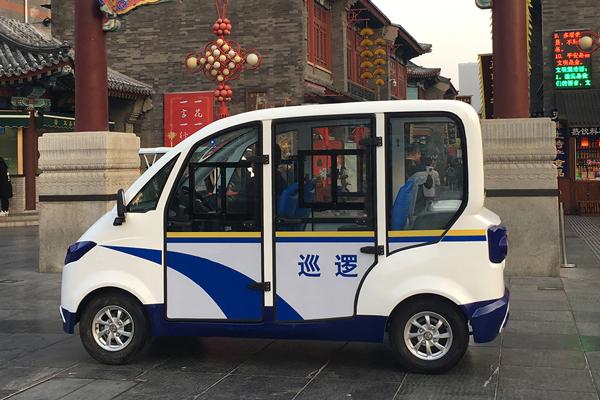 永和生态公园购置 彻莱特电动巡逻车