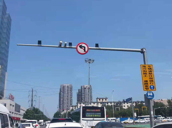 交通标志杆生产