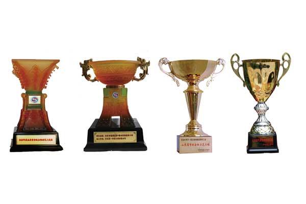 山东市政金杯、泰山杯---4个