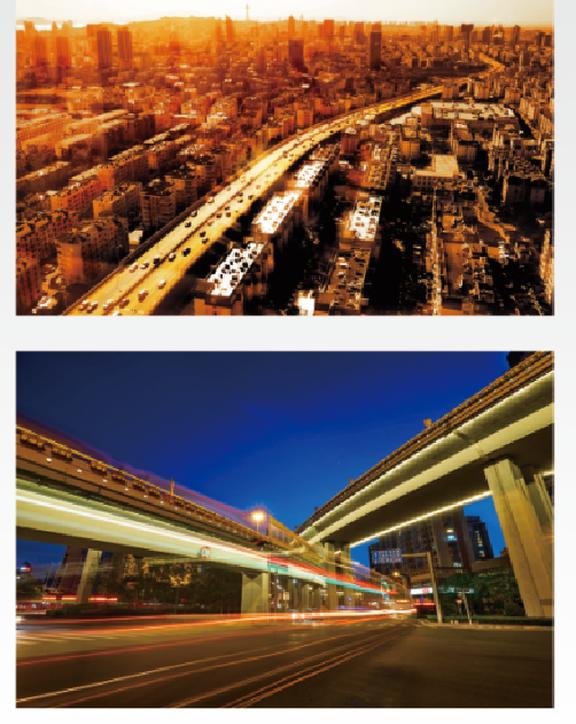 青岛东西快速路工程  (获中国市政金杯示范工程)