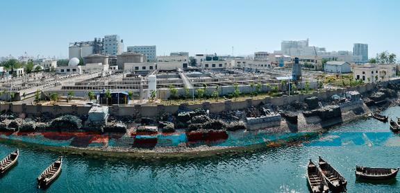 青岛海泊河污水处理厂