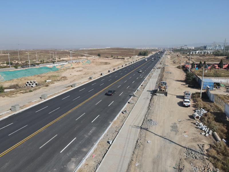 包头市S211省道道路改造工程施工三标段工程