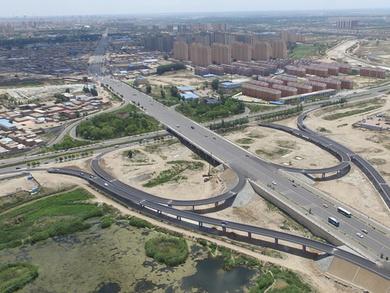 哈屯高勒与建华路立交桥工程