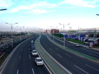 包头市110国道(白云路至银海路)道路改造工程