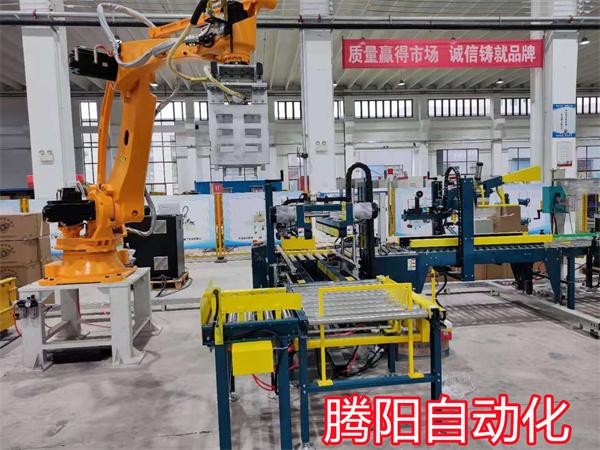 码垛机器人生产线