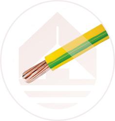 PVC绝缘层包覆铜绞线