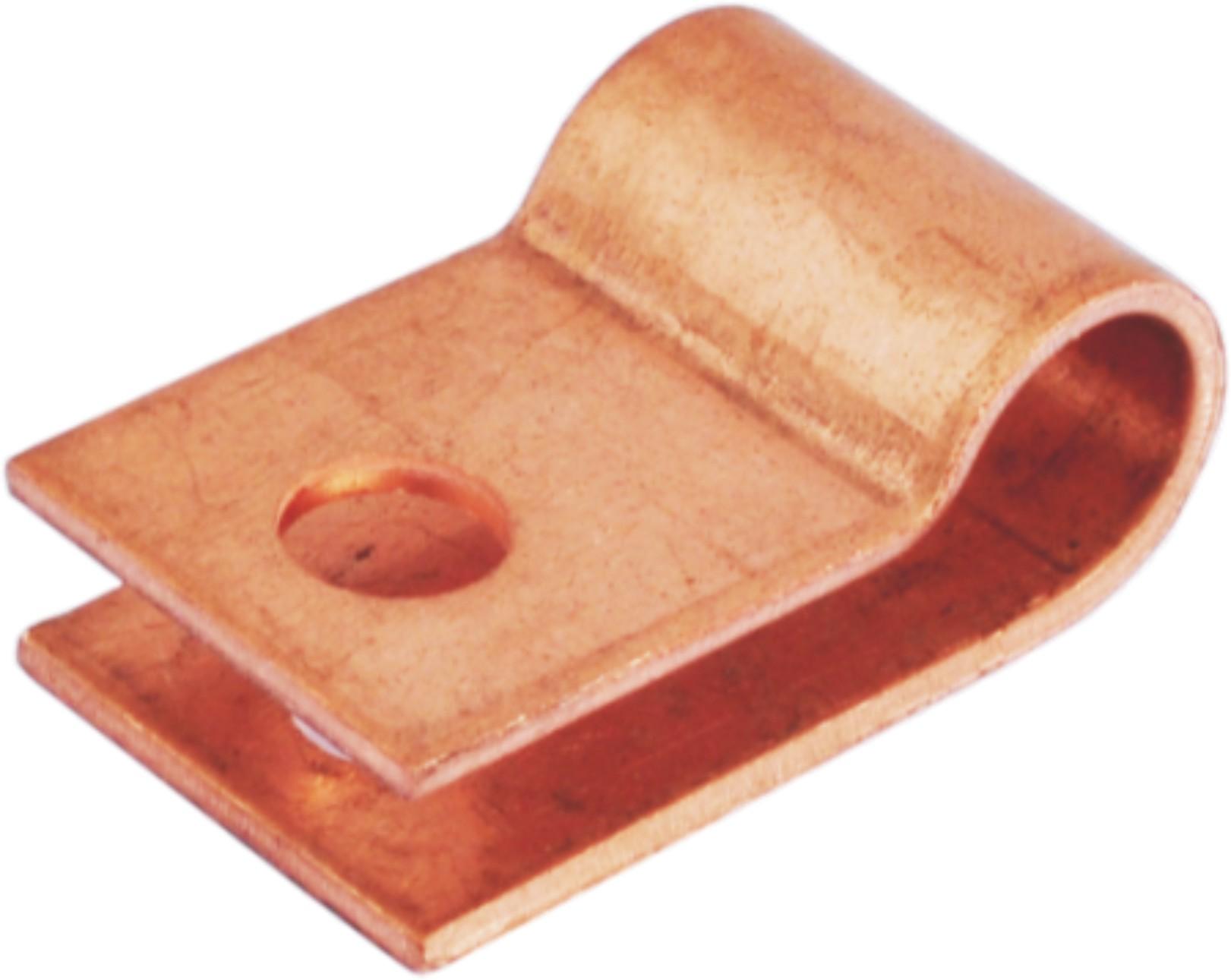 铜单孔线夹