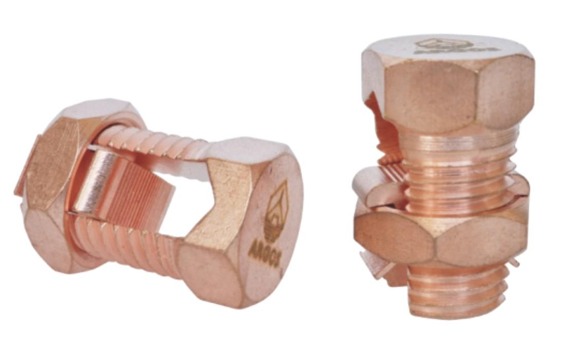 开尾螺栓连接器