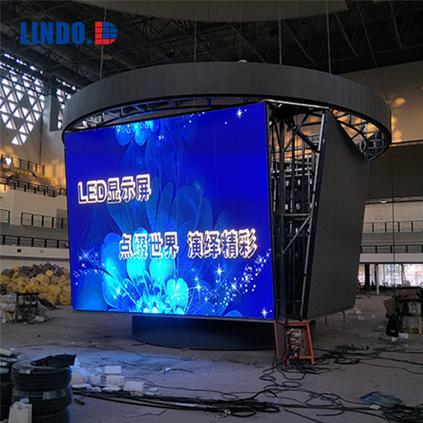 体育馆斗型LED显示屏