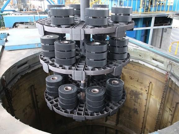 井式可控渗氮炉RQD-150/400-TL型