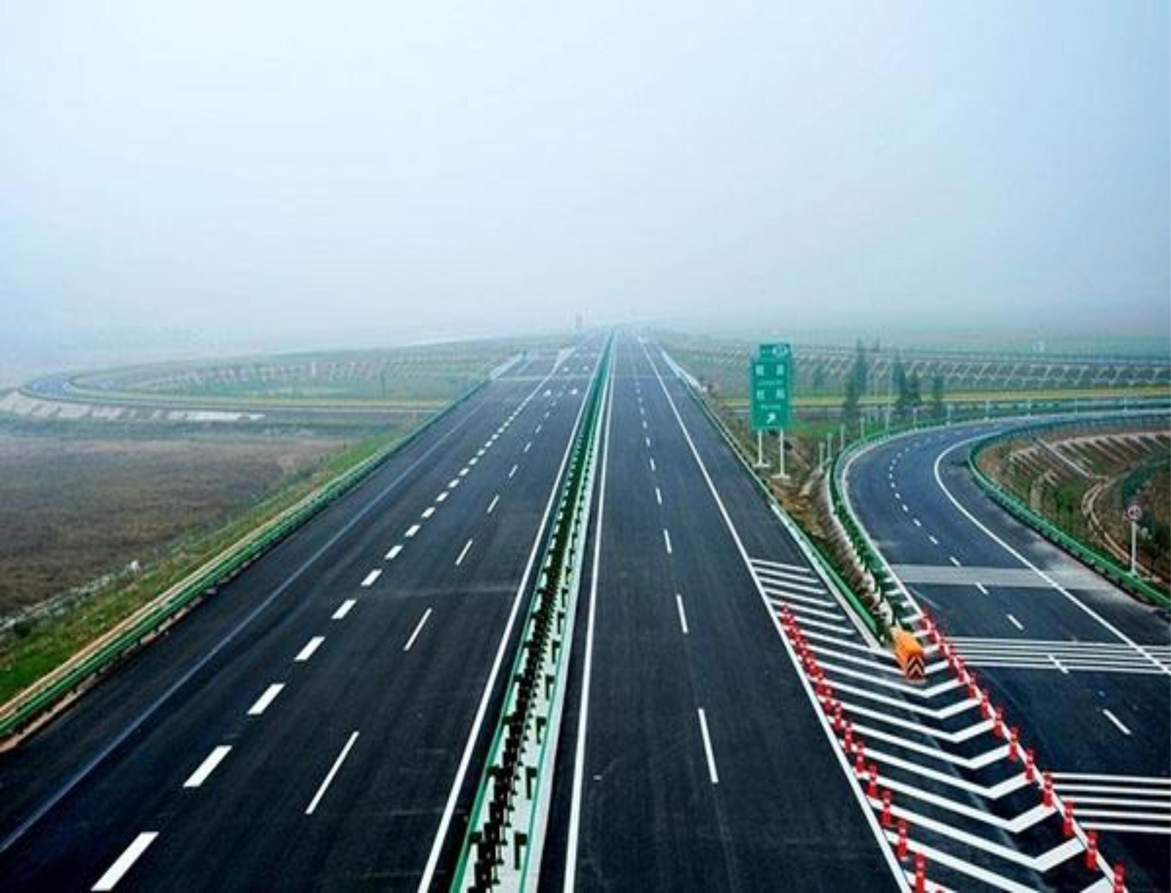 廣珠西線高速路劃線