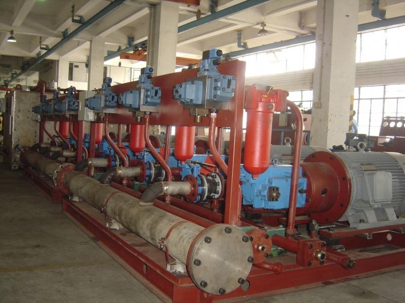 950mm热轧带钢步进梁式加热炉液压系统