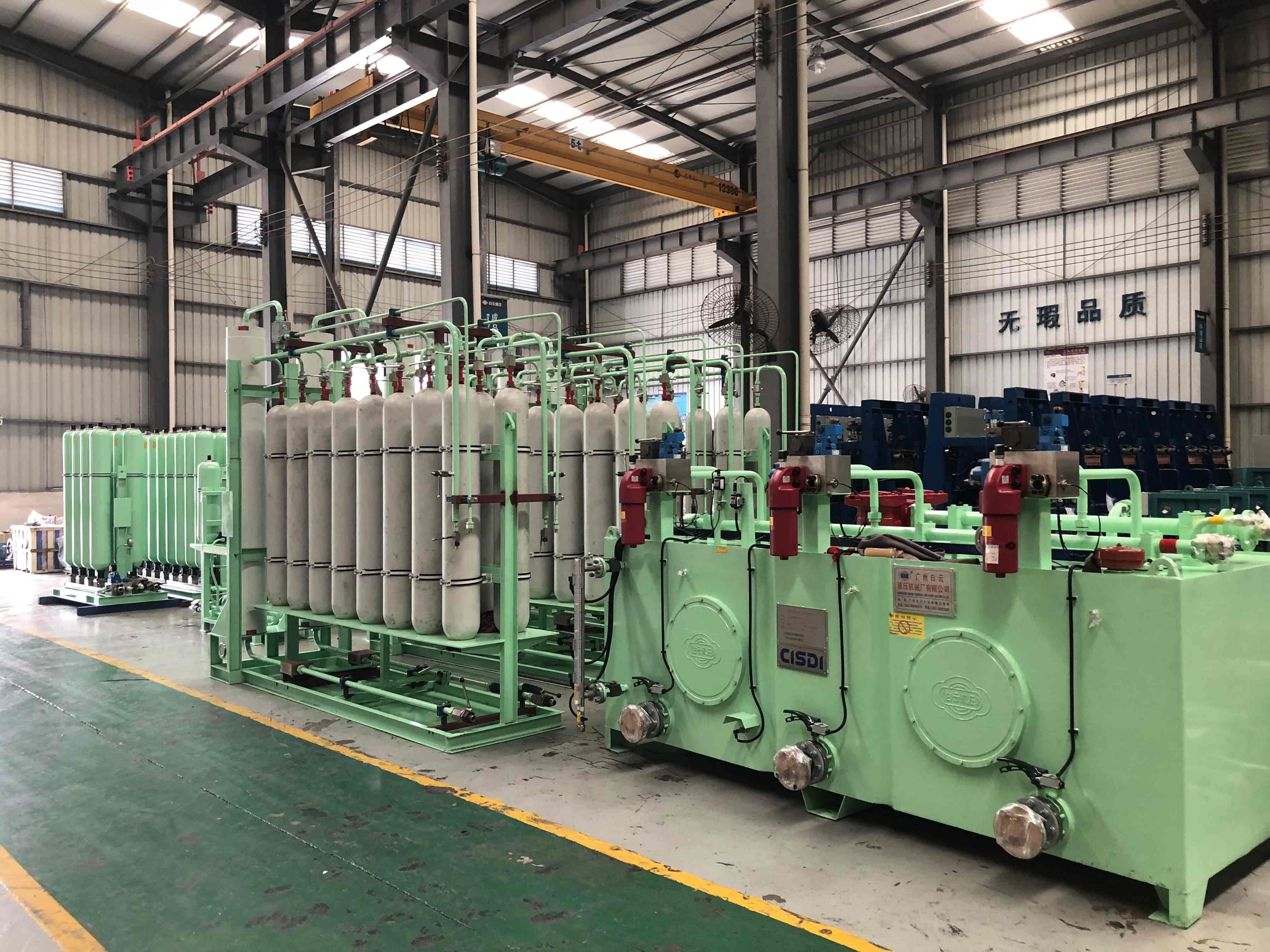 5100m3高炉炉前液压系统