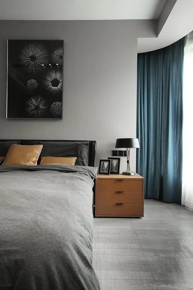 现代简约风装修,客厅光线明亮通透,看到就想搬进去住