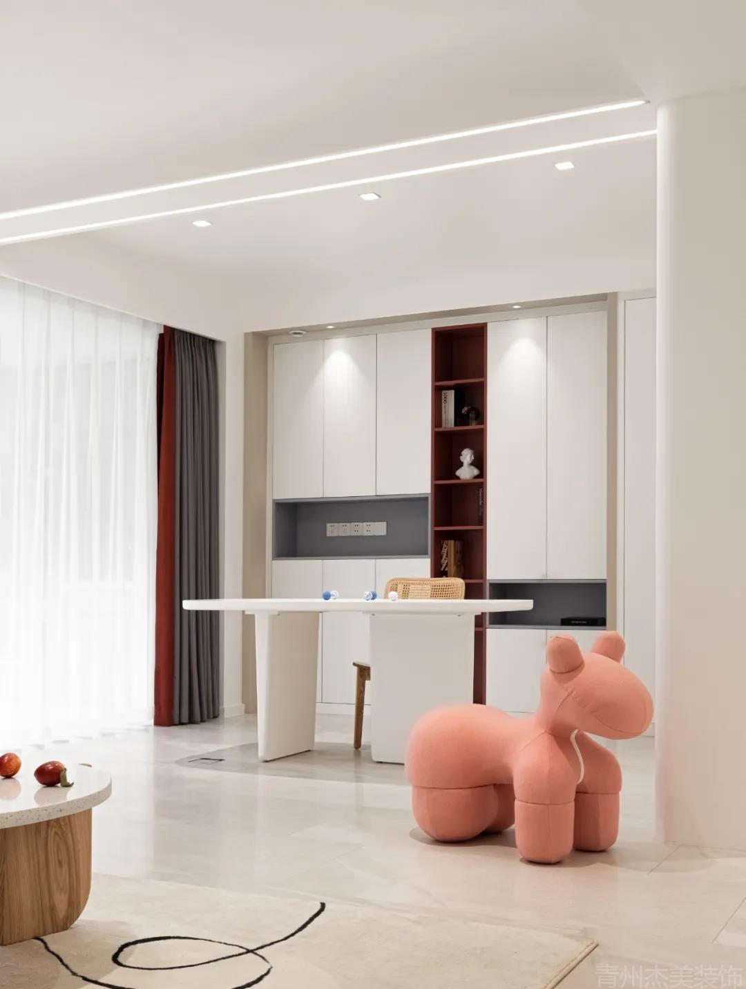 120㎡现代简约风,无主灯设计成为了这个家的一个大亮点!