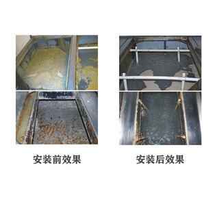 油水分离器安装后油水分离效果图