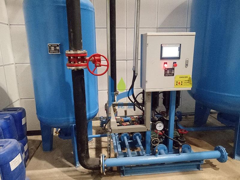 定压补水装置安装到位随时使用