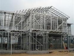 陕西钢结构,钢结构工程夹层要怎么做
