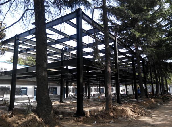 陕西钢结构,钢结构房屋外墙可以用些什么材料?