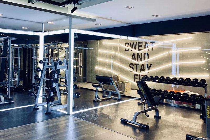 杭州文一西路健身房装修设计案例