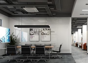 杭州科技企业办公室装修案例