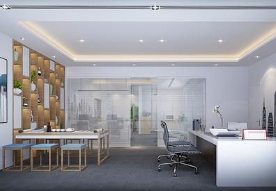 杭州咨询企业办公室装修案例