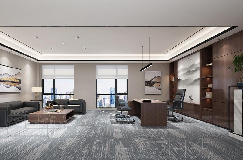 杭州资产管理企业办公室装修设计