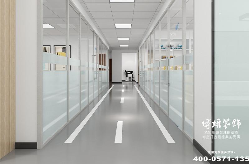 湖州市德清科技企业办公室装修设计