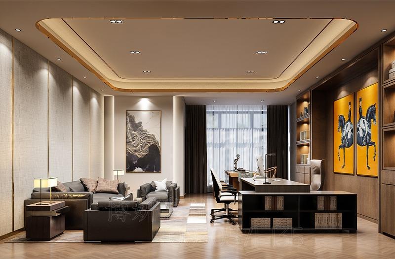 杭州市蕭山區辦公室裝修設計案例