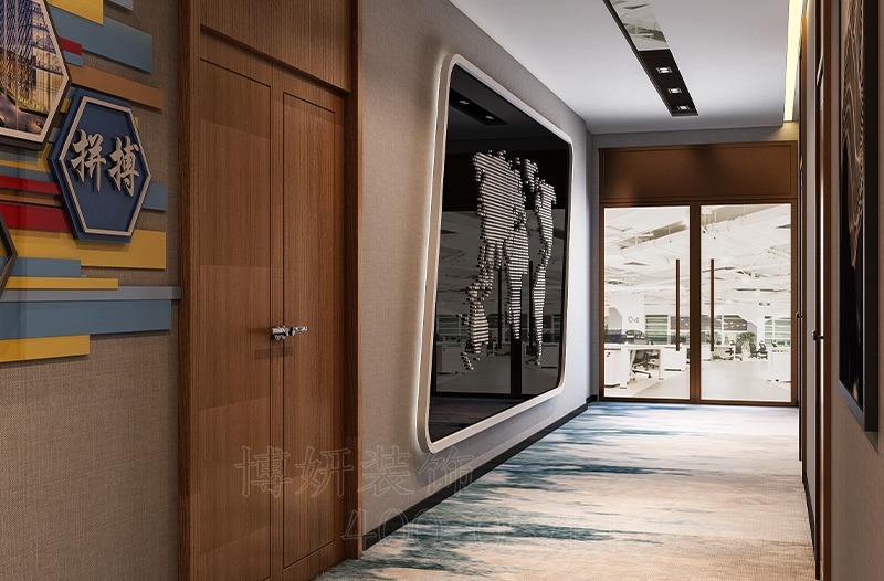 杭州市萧山区办公室装修设计案例