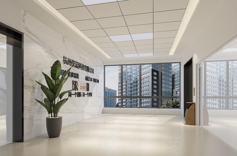杭州科技企业办公室装修设计