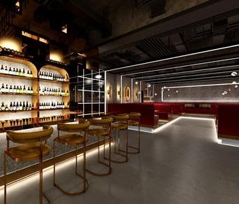 杭州酒吧裝修設計