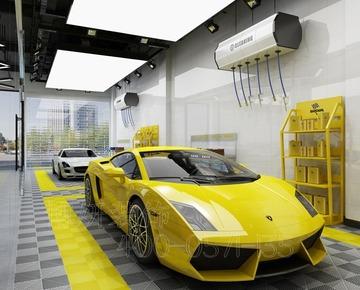 杭州高端洗车店装修