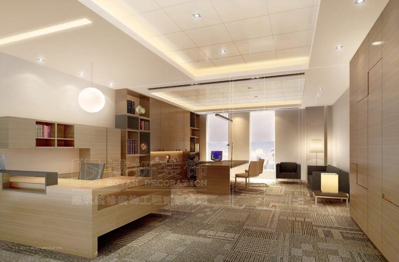 集团总部办公楼设计装修案例