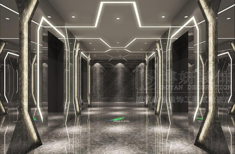 海勒科技企业办公楼装修设计案例