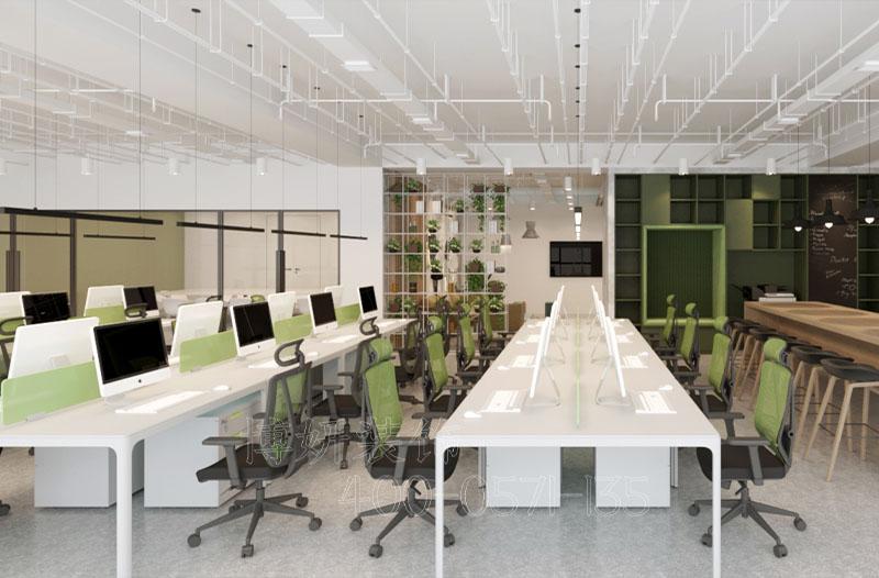 绿谷发展中心瑞欧科技办公室装修