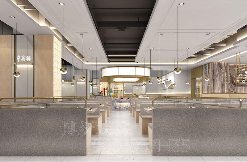 杭州海鲜自助餐厅装修案例