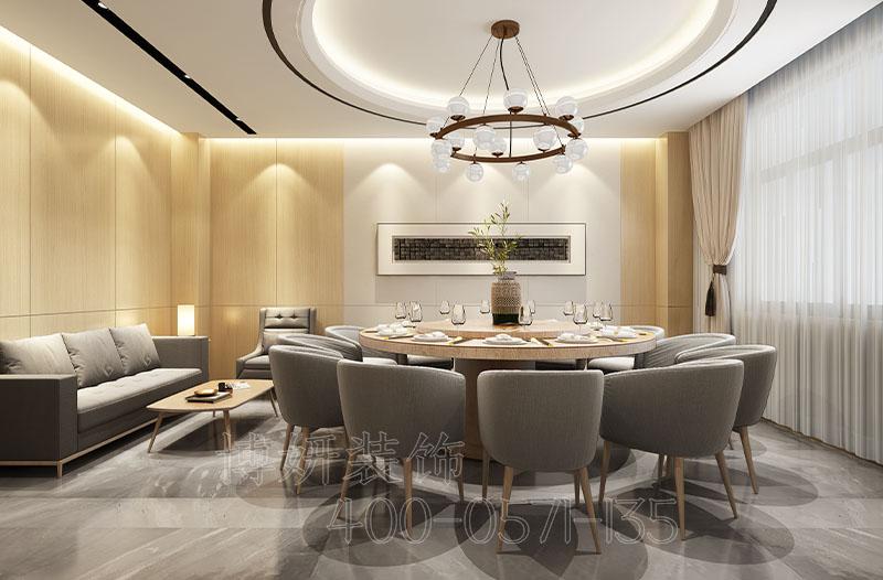 杭州主题餐厅装修案例-朱包赢幸福餐厅设计